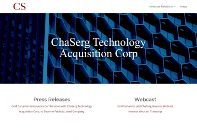 ChaSerg Technology Acquisition Corp