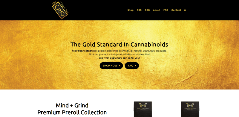 Stay Connected CBD